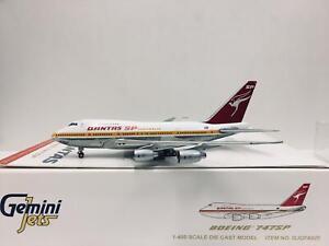 Gemini Jets 1:400 Qantas BOEING 747SP VH-EAB GJQFA925