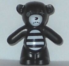 Lego Animal Teddy Bear Black & White (From col02-16) Nounours Minifigure New