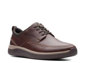 Clarks Garratt Street Brown Size 7 G Comfort Shoe RRP £90