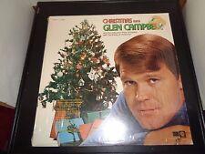 "Christmas With Glen Campbell 12"" Vinyl Record Album SL-6699 VG+ Condition 1971"