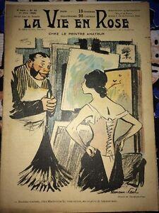 PROSTITUTION -ÉROTISME. REVUE CARICATURES 1902. Chez Le Peintre Amateur.