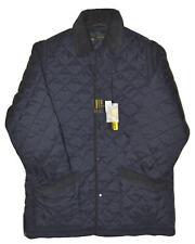 Giacca trapunta UOMO HUSKY M L XL XXL 3XL maniche smontabili per uso gilet Blu