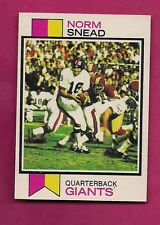 1973 TOPPS # 515 GIANTS NORM SNEAD NRMT-MT  CARD (INV# A3039)