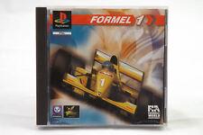Formel 1 (Sony Playstation 1/2) PS1 Spiel in OVP, PAL, CIB, GUT