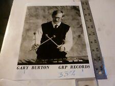 Vintage Glossy Press Photo-Gary Burton Playing Xylophone 7/1987