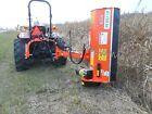 Peruzzo Fox Cross 1200, 48' Ditch Bank Flail Mower: 18-35HP, Hyd Offset & Tilt!
