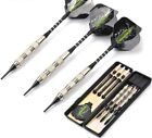 Steel Safe Dart With Soft Tip Indoor Sport 18g 3pcs/Set Professional Sports Game
