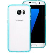 Caja de teléfono celular Samsung Galaxy S7 borde cubierta por NALIA transparente delgado Silikoncase