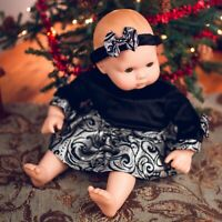 15 In Baby Doll PARTY DRESS DOLL CLOTHES Fits American Girl®'s Bitty Baby Twins