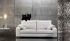 Cat Kittens Wall Sticker Wall Art Decor Vinyl Decal Mural  CUTE! Cats YOU CHOOSE