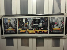 New York NYC Taxi Cab  WALL ART Picture Print