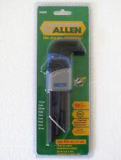 Allen Key 9 Piece Metric Long Arm Hex Set Genuine Allen Brand