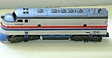 Vintage Amtrak #106 Engine Locomotive HO Scale Model Train-Untested