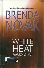 White Heat by Brenda Novak (2010, Hardcover, Large Type)