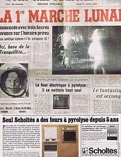 PUBLICITE ADVERTISING 045 1974 SCHOLTES des fours à pyrolyse