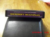 TI-99 Microsoft Multiplan - Texas Instruments cartridge