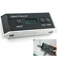 Electronic Digital Magnetic Protractor Tilt Angle Meter Finder Inclinometer Tool