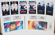 CUstom stickers for LEGO 10232 CInema Theater Doctor Strange