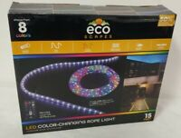 ECO Scapes LED Color Changing Rope Lights,15 Feet, by Jasco BRAND NEW!