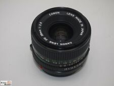 Canon fd Wide Angle Lens 2,8/28mm For AE-1, A1 Etc. Ø 52mm