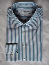 Ede Ravenscroft brand new Arnold Blue striped15.5R dress shirt