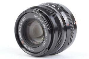 Fujifilm FUJINON ASPHERICAL LENS SUPER EBC XF 35mm f/2 R WR w/ Hood  #P4533