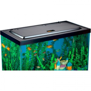 Aqua Culture LED Pet Fish House Aquarium Hood for 20/55-Gallon Aquariums Tanks