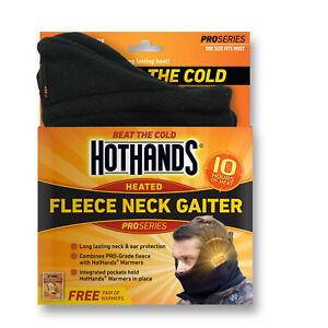 HotHands Heated Neck Gaiter - Black
