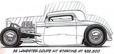32 Ford Lakester Coupe Steel Body Kit by Brookville Roadster / Shadow Rods