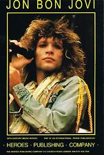 THREE for PRICE of ONE >JON BON JOVI,HIGH QUALITY+VALUE GLOSSPOSTCARD NEW FREEpp