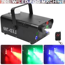 700W Nebelmaschine Rauch RGB 6LEDs DJ Fogger Nebelgerät Remote Party Disco Show