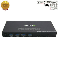 4 Port HDMI KVM Switch 4 IN 1 OUT For 4Kx2K Support 18Gbps/ HDMI 2.0/ HDCP 2.2