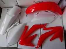 RACE TECH REPLICA PLASTIC KIT HONDA CRF450 CRF450R 2005 2006 RED WHITE
