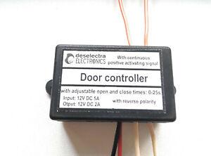 Reverse Polarity Garage Door Gate Controller Module 12V 2A Continue Signal 12V+