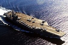 New 5x7 Photo: U.S. Navy Warship USS NIMITZ Aircraft Supercarrier in Canada