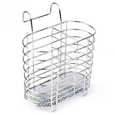 1pc Stainless Steel Dish Rack Drainer Dry Organizer Cutlery Holder Kitchen Tools