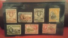 7X 1938- 1957 GOLD COAST STAMPS