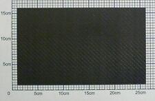 1,45mm Carbon Platte Kohlefaser CFK Platte ca. 251mm x 150mm