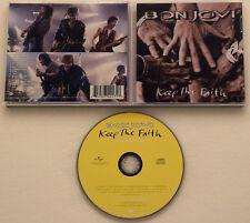Bon JOVI-KEEP THE FAITH +2 (1992, special ed.) Sleep When I 'm Dead, Bed of Roses