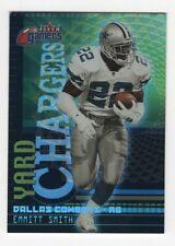 2000 Fleer Gamers Yard Chargers Emmitt Smith Dallas Cowboys