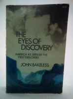 """John bakeless THE EYES OF DISCOVERY~Stated """"Dover edition 1st Published in 1961"""""""