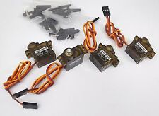 171Sf: 4 x 11gram(0.4oz) Aluminum gear mini servo(9 gram Size) for RC Model DIY