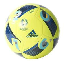 Ballon de football Adidas Glider UEFA EURO 2016 JAUNE SOCCER BALL FLUO NUIT T5