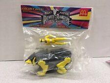 Mighty Morphin Power Rangers The Movie McDonalds Yellow Ranger w/ Bear Ninjazord
