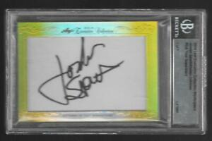 '14 Leaf DUSTIN JOHNSON/JORDAN SPIETH Auto RC/BGS Executive Collection 1 /1 GOLF