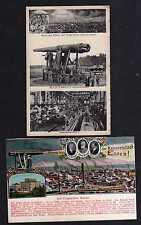 107061 AK Essen um 1915 Krupp Kanonenwerkstatt Verschwindlafette