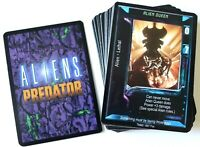 ALIENS PREDATOR CCG Card Game: Complete Set Of All 63 Fixed Cards (1997) - AVP