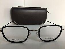 New Ermenegildo Zegna EZ 5083 014 51mm Black Eyeglasses Frame Japan