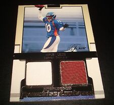 Ashley Lelie Broncos Hawaii 2002 Flair Franchise Dual Jersey Football Relic JG