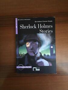 """Libro di lettura scolastico in Inglese """"Sherlock Holmes Stories"""""""